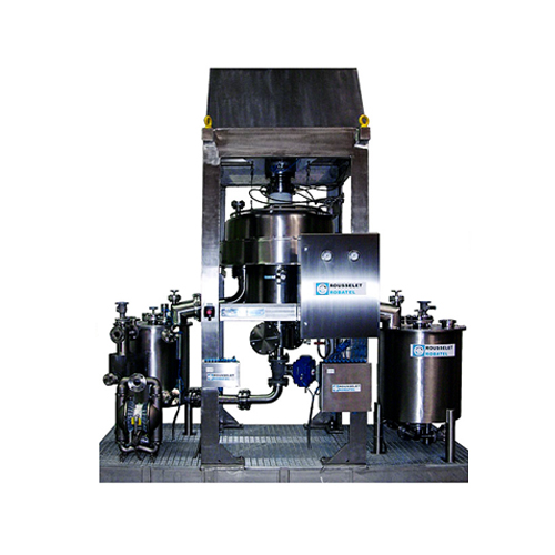 Liquid separator with receiving tanks – model bxp 520