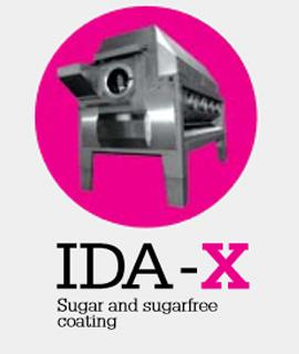 Ida-x sugar & sugar free coating