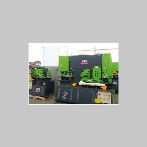 Q35y series hydraulic punch & shear