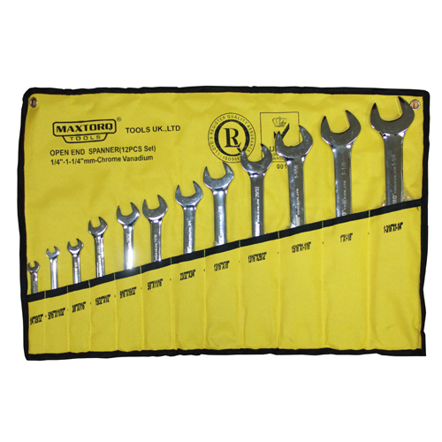 Open end spanners - metric