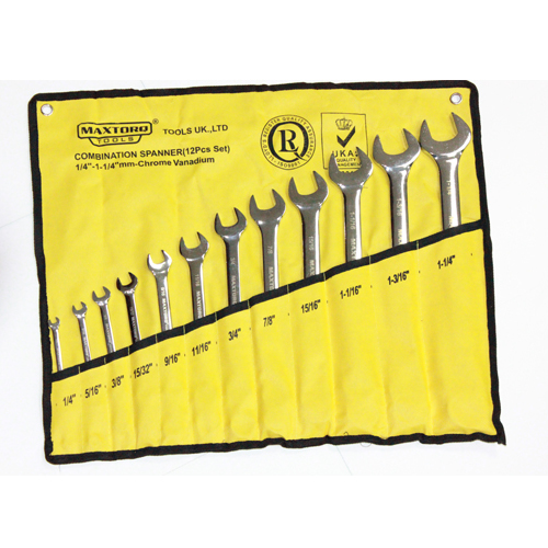 Combination spanners - inch set-1