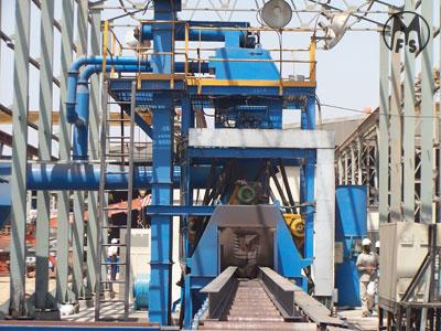 Murzello - airless / centrifugal shot blasting equipment- airless plate machine - auto structural shot blasting