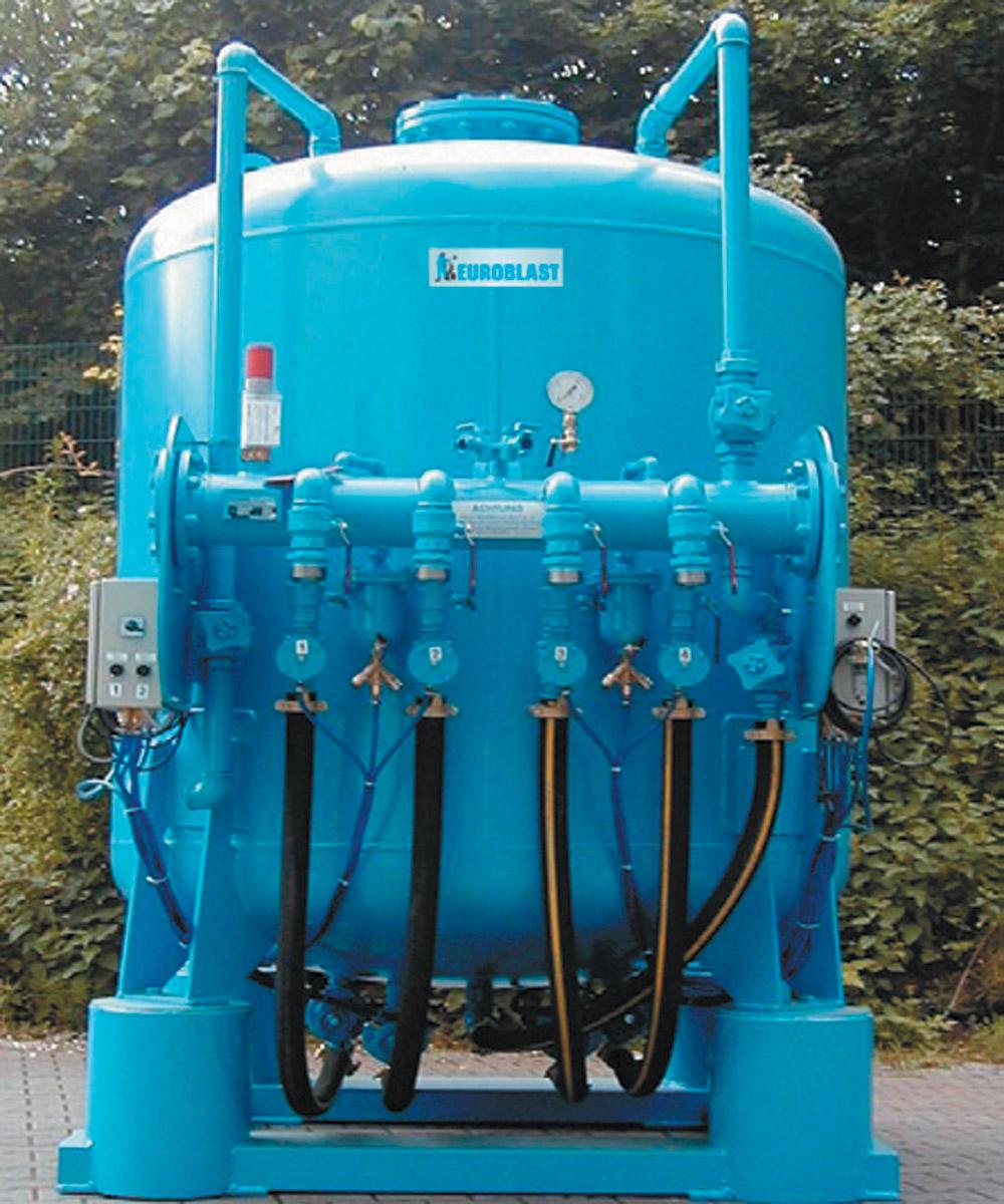 Bulkblast machine