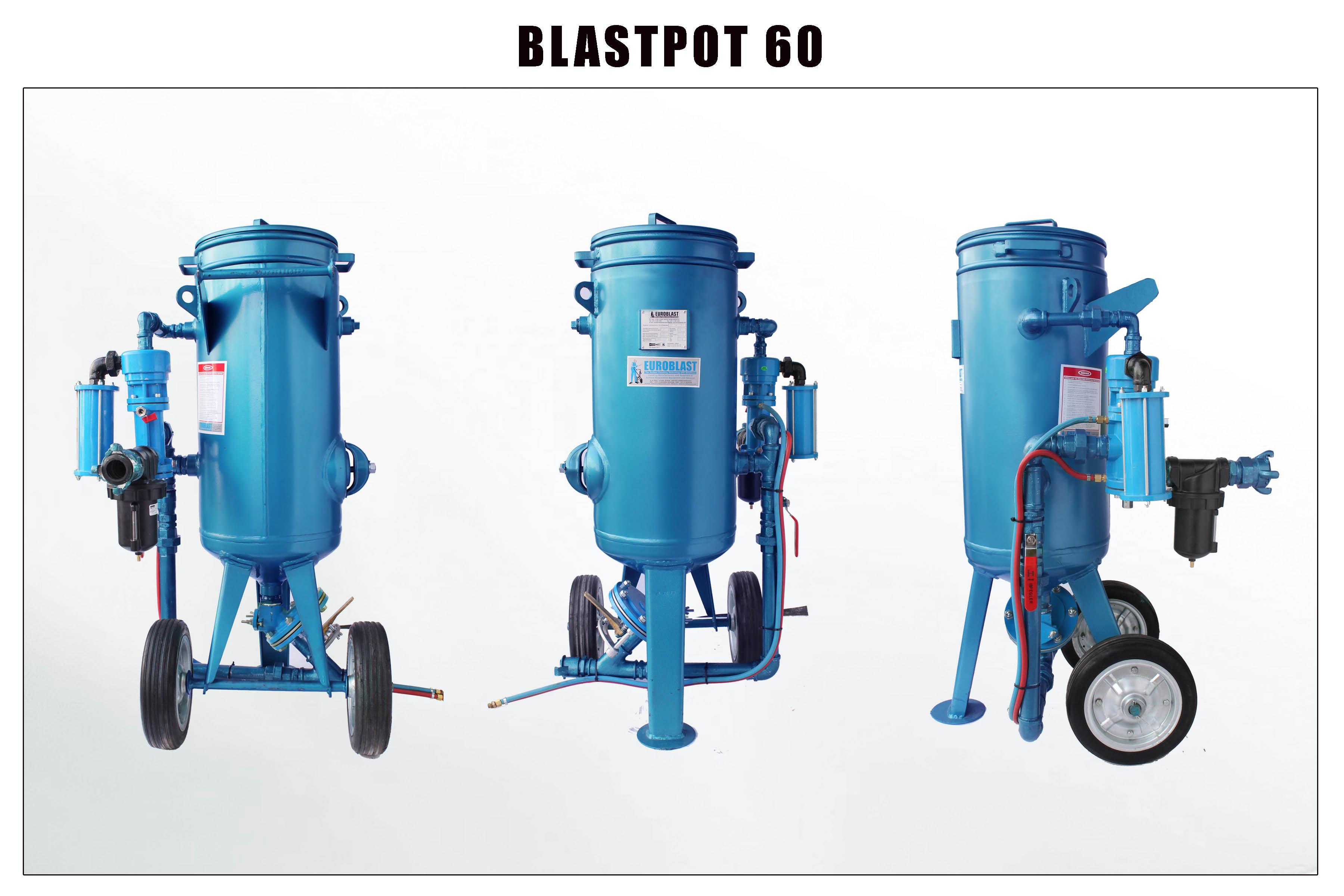 Pressure blast machine - single chamber & double chamber
