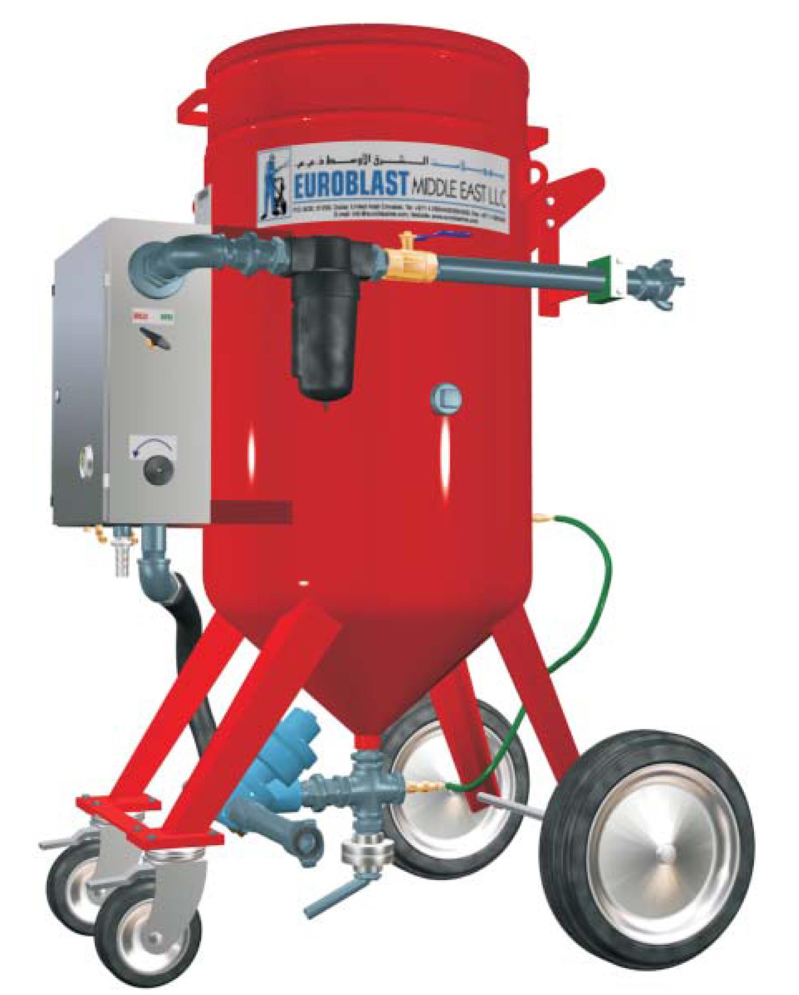 Ebsc200ltr wet grit blast machine