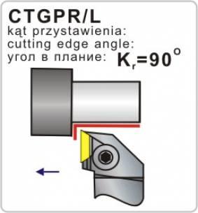 Folding knife turning ctgpr / l