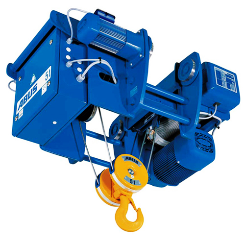Monorail electric wire rope hoist type e