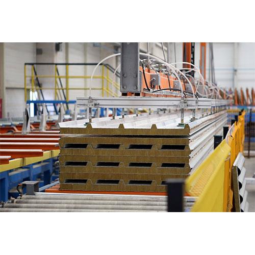 Izocam tekiz mineral wool insulated panels