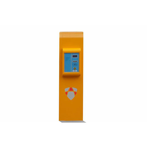 Paid parking system on exit (thermal printing)