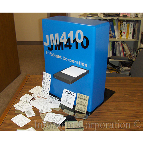 Jm 410 id tag printer