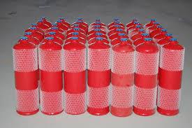Asbestos-free acetylene cylinder