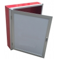 Carbon steel fire box hydrant cabinet