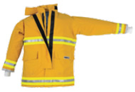 Nfpa approved nomex attack fireman suit