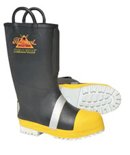Nfpa approved rubber insulated boot