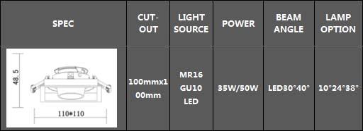Recessed downlights GS-2C16021_3