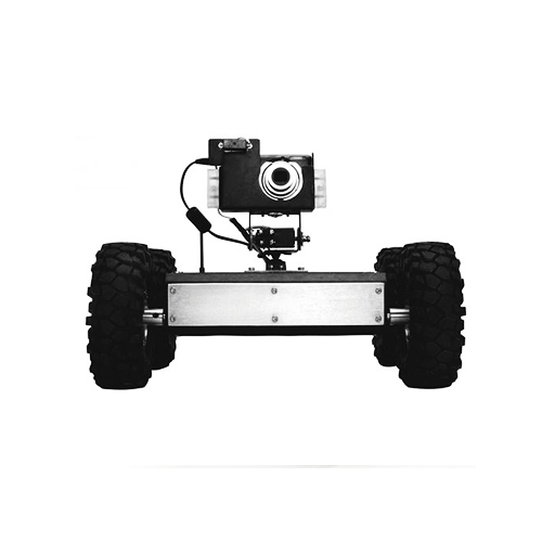 Spy botics -gui controlled robot with live video tracking