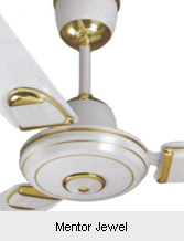 Ceiling fans-mentor jewel