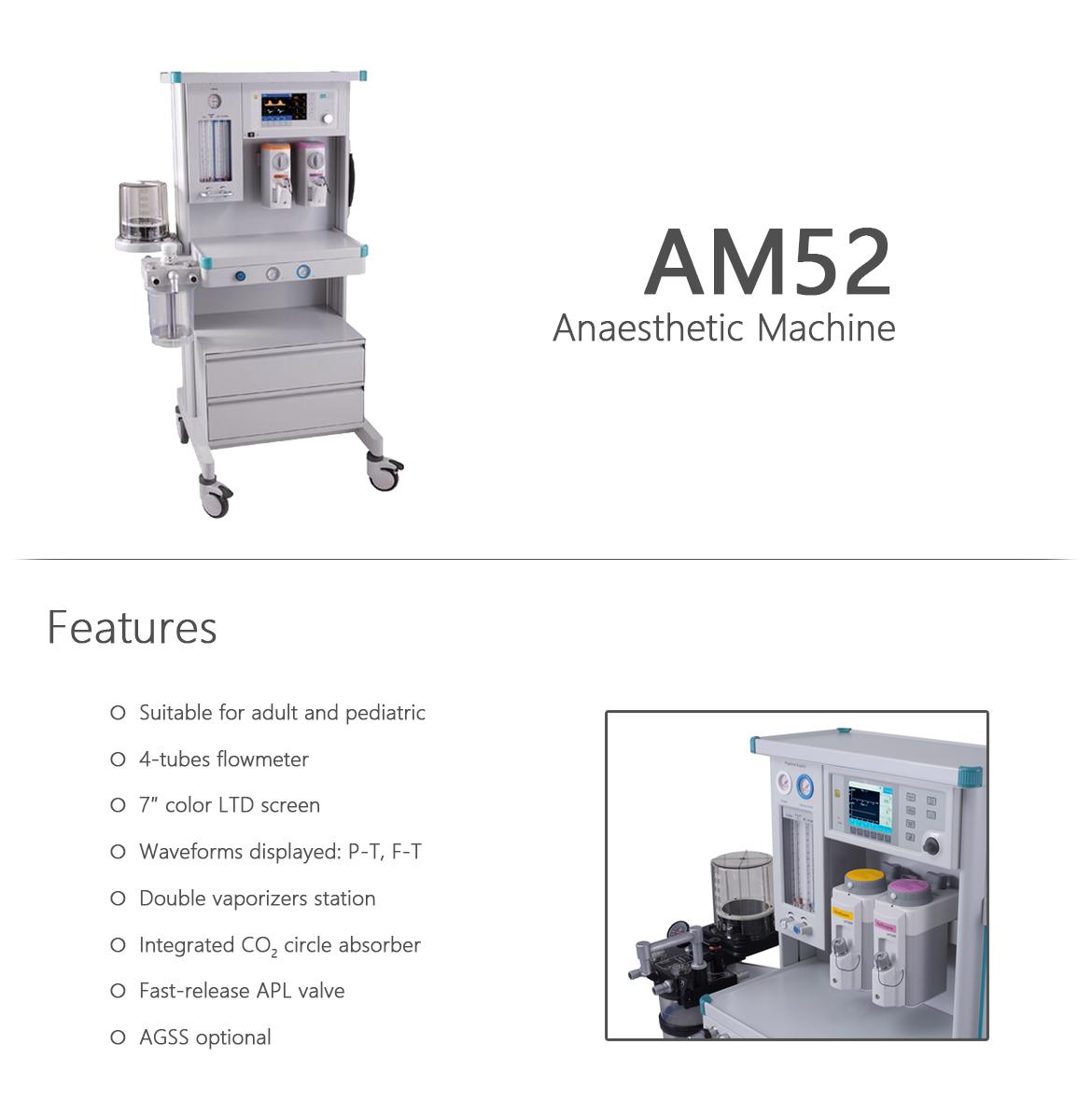 Am52 anaesthetic machine