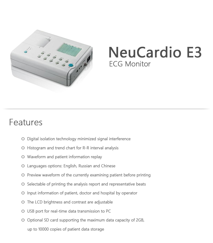 NeuCardio E3 ECG Monitor_2
