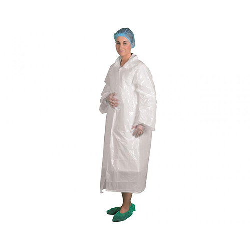Pw-d318 disposable visitors coat