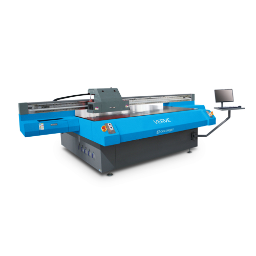 Verve true flatbed uv printer
