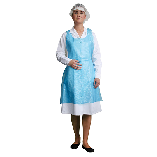 Pw-d300 disposable pe bib apron