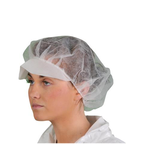 Pw-d109 disposable peaked bouffant cap