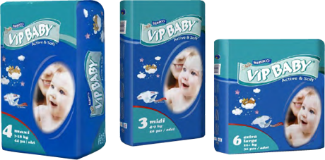 Bebiko vip baby active and soft