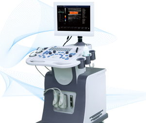 Dw-c80 2d trolly color doppler ultrasonic diagnostic system
