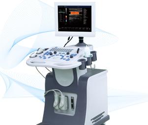 Dw-c80 2d trolly color doppler ultrasonic diagnostic system