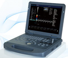 Dw-c60 laptop color doppler ultrasonic diagnostic system