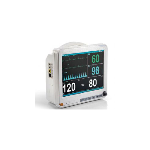 AJ-3000DT 15 inch Touch Screen High Performance Multi Parameter Patient Monitor_2