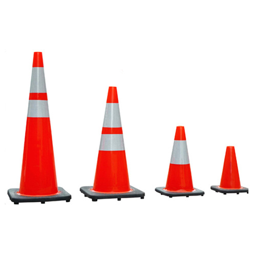 Flexible pvc traffic cone