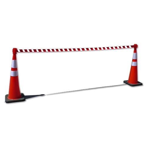 Traffic cone topper tensacone topper