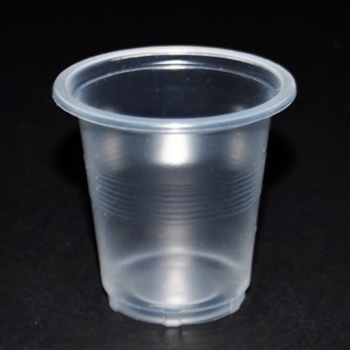 1.0g thermoforming medicine cup with single side scale