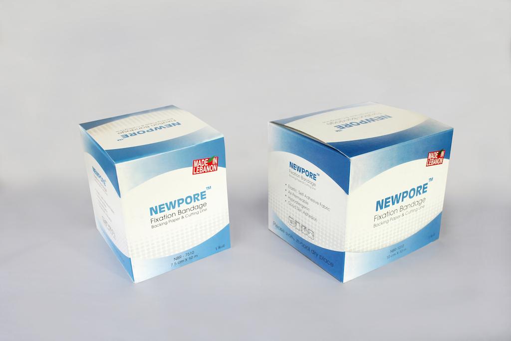 Newpore fixation bandagemedical bandage