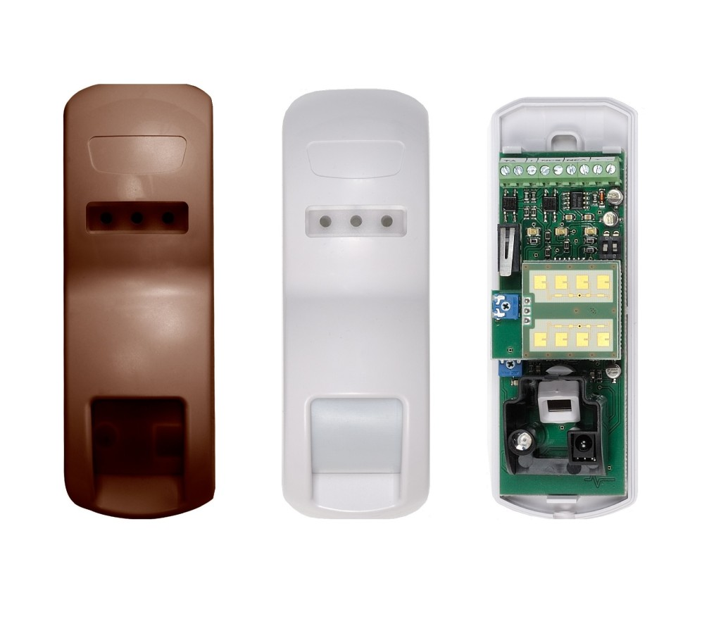 Smart-double technology curtain sensor