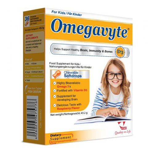 Omegavyte d3 chewable softdrops