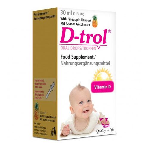 D –trol oral drops