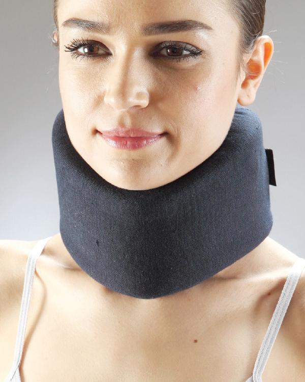 Backed foam neck