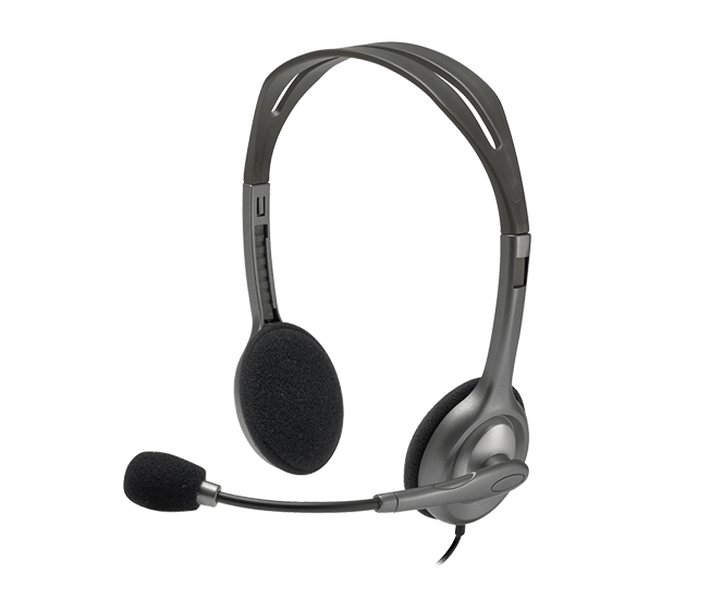 Logitech stereo headset h110 part no: 981-000271