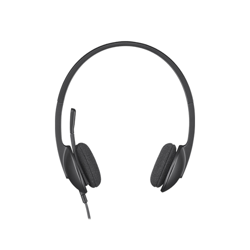 Logitech usb headset h340  plug-and-play usb headset  part no: 981-000475