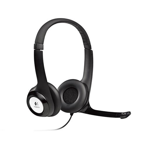 Logitech usb headset h390  comfortable usb headset  part no: 981-000406
