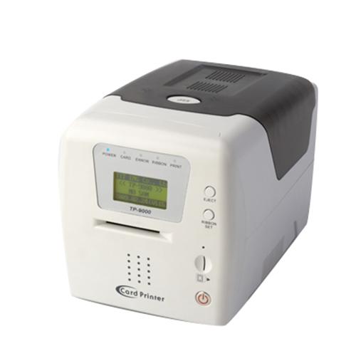 Manual feed card printer (tp-9000)