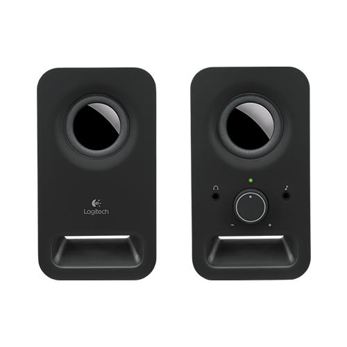Logitech multimedia speakers z150  :part no: 980-000817 (white) part no: 980-000816 (black)