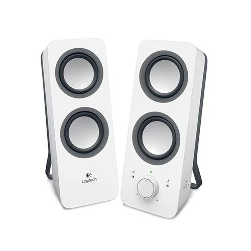 Logitech multimedia speakers z200  feel the beat  part no: 980-000812 (black) part no: 980-000813 (white)