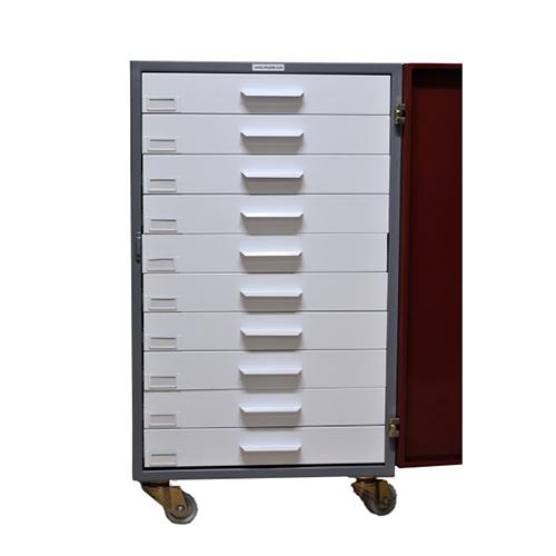 Block archive cabinet