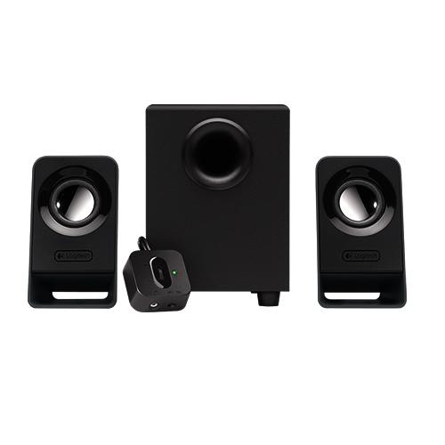 Microsoft multimedia speakers z213  full bass, compact design  part no: 980-000942