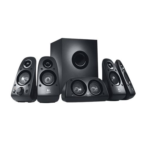 Logitech surround sound speaker z506  part no: 980-000432