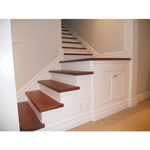 L-shape stair